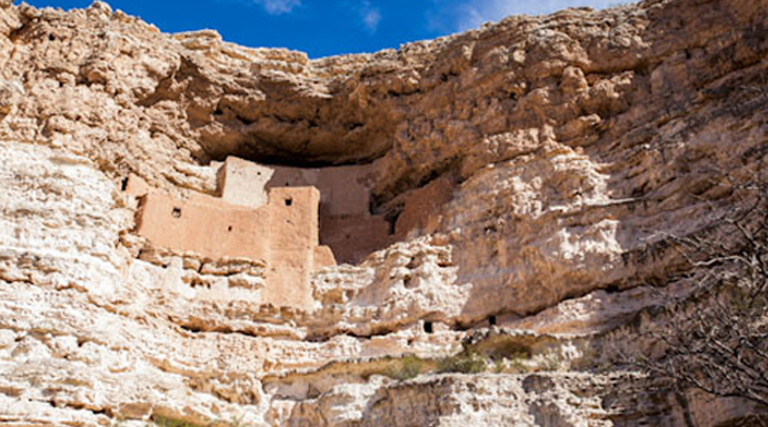 Photo of montezuma castle native village
